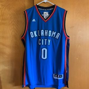 New Adidas Oklahoma City jersey